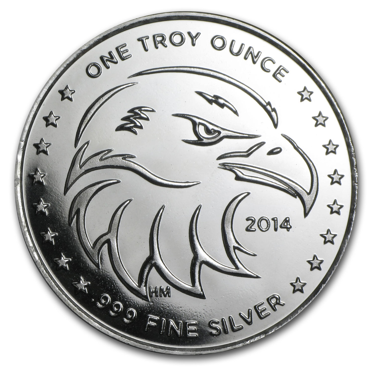 1 oz Silver Round - APMEX (2014 Eagle Eye)